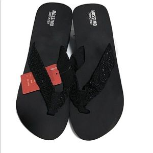 Mossimo Black Sandals